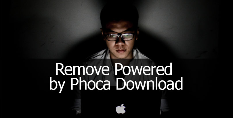 How to Remove Powered by Phoca Download in Joomla 3 or 2 5