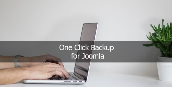 One Click Backup for Joomla