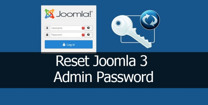 Reset Joomla 3 Admin Password