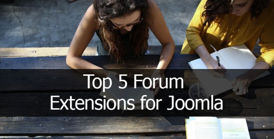 Top 5 Forum Extensions for Joomla