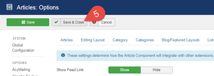 Joomla 3: Remove Article ID From URL / Links