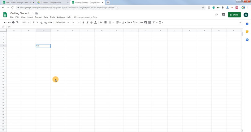 Google Sheets Spreadsheet