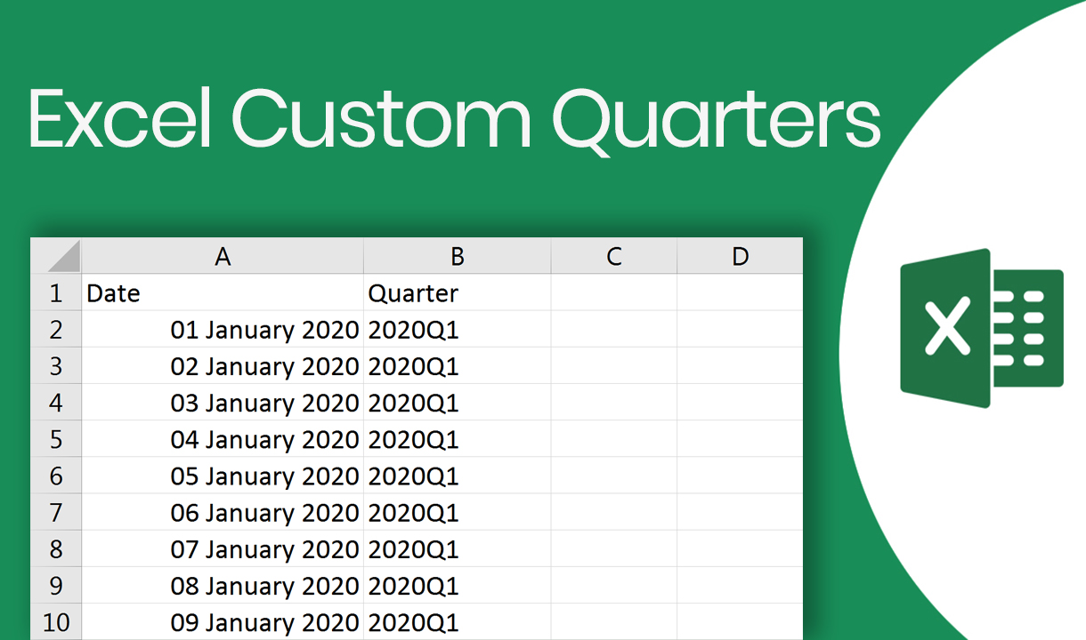 Excel Custom Quarters